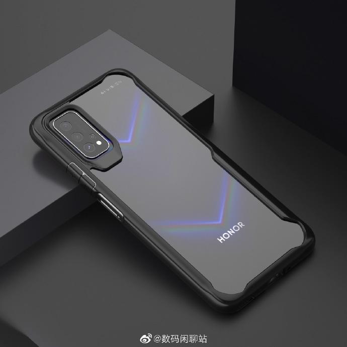 صورة مسربة لغطاء واقي تستعرض لنا تصميم الواجهة الخلفية للهاتف Honor V30
