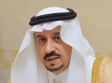 سمو أمير منطقة الرياض يعزي الأمير فهد بن مشاري في وفاة والدته