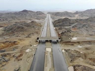 حصر الأراضي المملوكة للدولة على طريق جدة – مكة الجديد