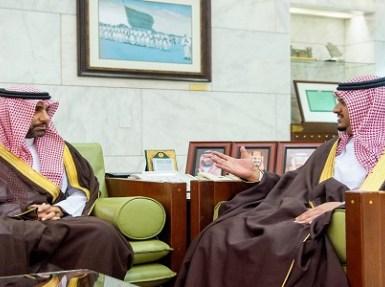 نائب أمير الرياض يستقبل الرئيس التنفيذي للهيئة الملكية لمدينة الرياض
