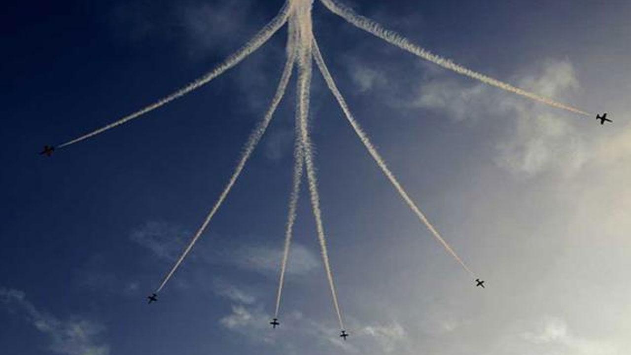 «أكبر عرض جوي في سماء السعودية»..والطيران المدني توضح