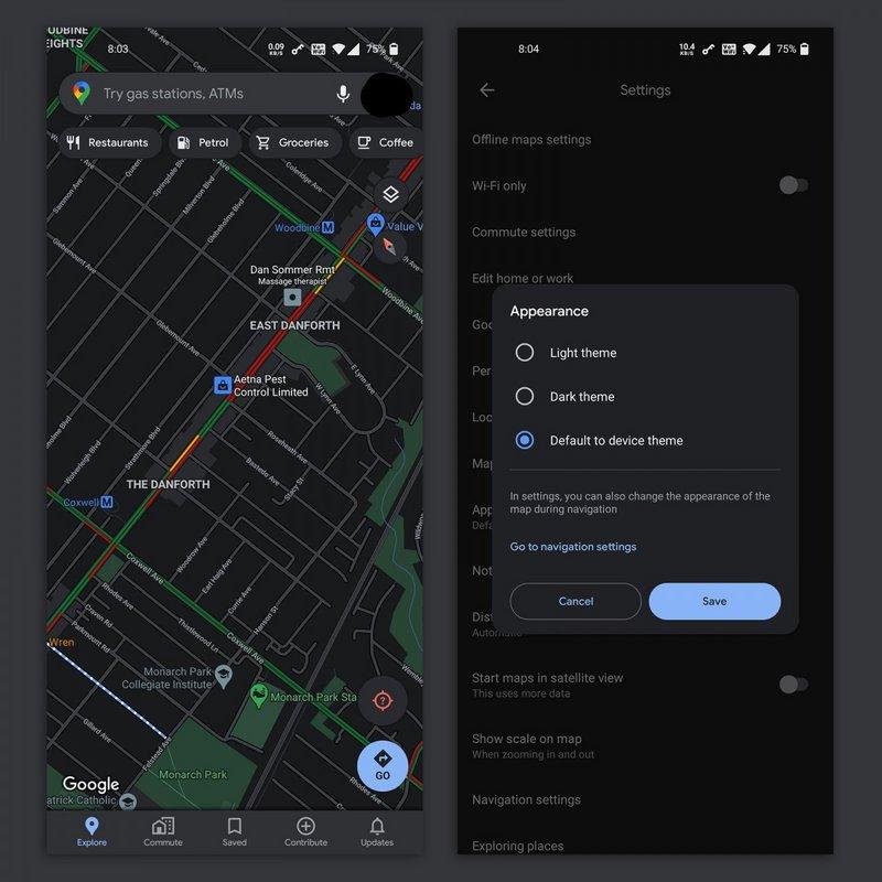 """تحديث """"خرائط جوجل"""" يقدم ميزات جديدة"""