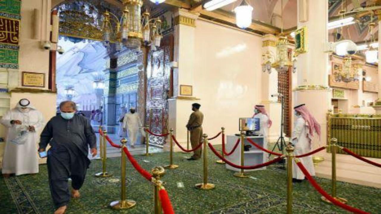 منع دخول الأطفال للمسجد النبوي للزيارة أو الروضة الشريفة